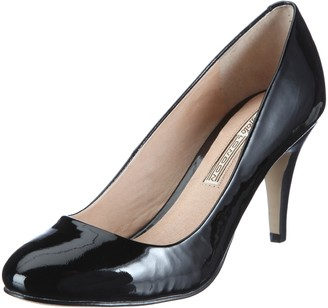 Buffalo London 109-5046 PATENT COW LEATHER Womens Closed Toe Shoes