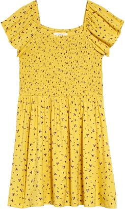 1901 Sunny Print Smock Dress