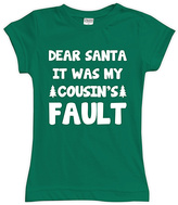 Urban Smalls Green 'Cousin's Fault' Fitted Tee - Toddler & Girls