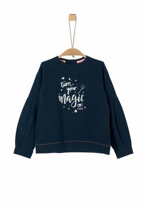 S'Oliver Girl's 53.911.41.2777 Sweatshirt