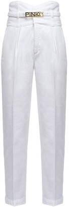Pinko Logo Belt Trousers