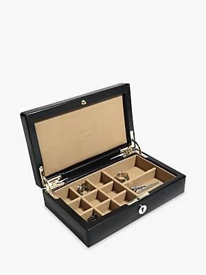 Dulwich Designs Leather Windsor Cufflinks Box