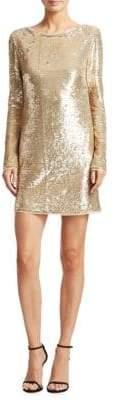 Rachel Zoe Racko Sequined Mini Dress