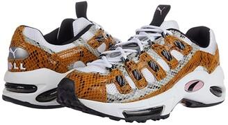 Puma Cell Endura Animal Kingdom White/Golden Orange) Men's Shoes