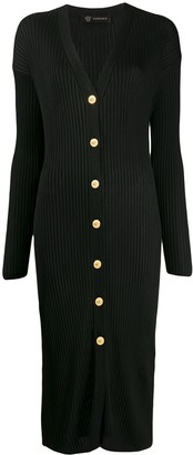 Versace Knitted Midi Dress