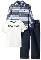 """Nautica Little Boys' Toddler """"Lakeshore"""" 3-Piece Outfit"""