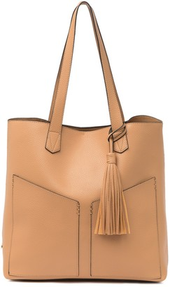 Steve Madden Lou Angled Pocket Tote & Pouch