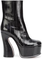Maison Margiela platform ankle boots - women - Leather - 36