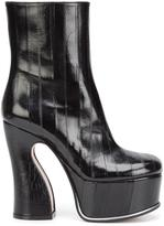 Maison Margiela platform ankle boots