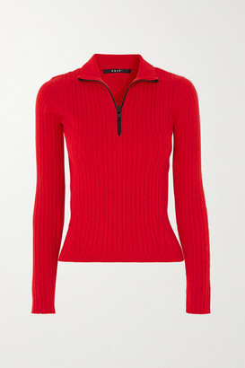 Ksubi Synth Ribbed Cotton-blend Sweater - Red