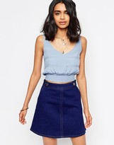 Free People Disco Times Cropped Top