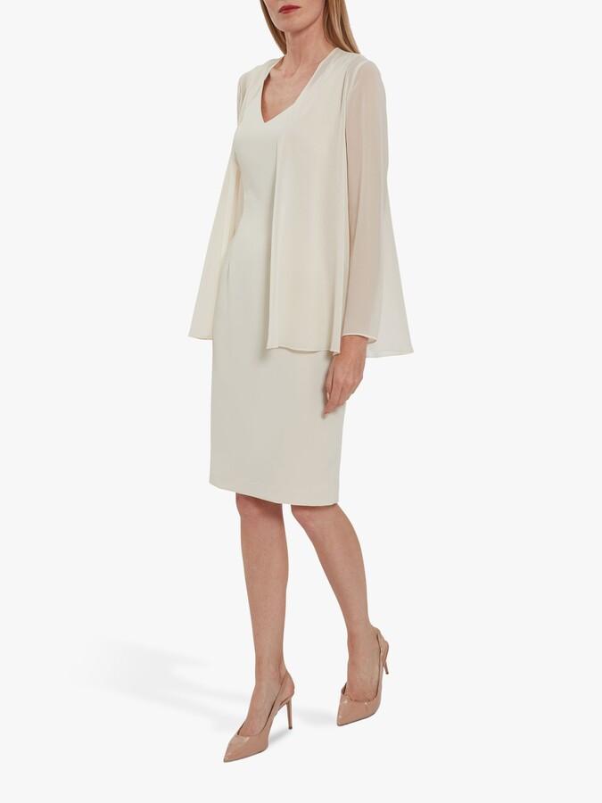 Thumbnail for your product : Gina Bacconi Chiffon Jacket