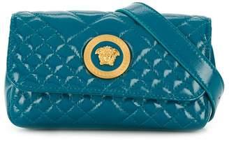 Versace quilted medusa head belt bag