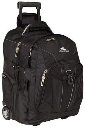 High Sierra NEW XBT Wheeled Backpack 40L Black