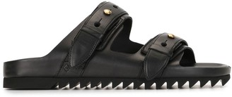 Dunhill Punch Hole Sandals