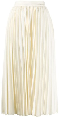 White Magic pleated trousers