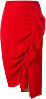 Erika Cavallini - draped skirt - women - Acetate/Viscose/Silk - 38