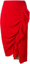 Erika Cavallini draped skirt
