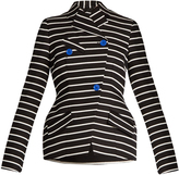 Proenza Schouler Double-breasted striped blazer