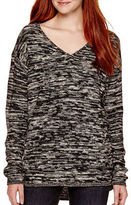 Arizona Long-Sleeve Marled Tunic - Juniors