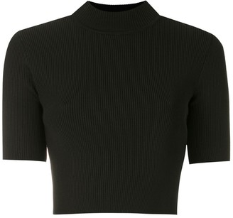 OSKLEN cropped knit T-shirt