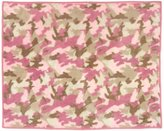 JoJo Designs Pink and Khaki Camo Accent Floor Rug by Sweet
