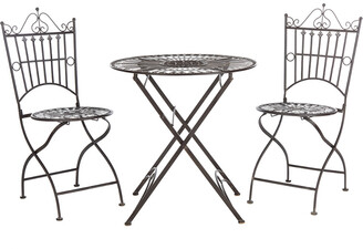 Safavieh Belen Bistro Set, One Table And Two Chairs
