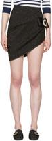 Dolce & Gabbana Black Brocade Miniskirt