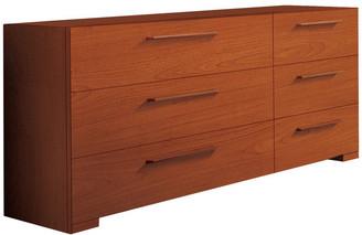 YumanMod Wynd Double Dresser Cherry Wood