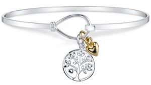 Unwritten Tree Charm Bracelet in Sterling Silver