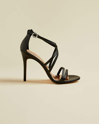 Ted Baker FLORETL Metallic strappy leather sandals