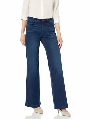 NYDJ Women's Wide Leg Trouser Jean