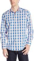 Robert Graham Men's Happy Feet Long Sleeve Woven Shirt
