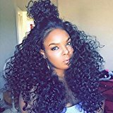 Cara 180% Lace Front Human Hair Wigs 360 Lace Wig 7A Loose Deep Curly Full Lace Human Hair Wigs For Black Woman