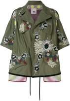 Antonio Marras embellished military jacket