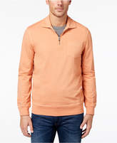 Club Room Men's Quarter-Zip Knit Shirt, Created for Macy's
