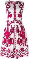 Samantha Sung sleeveless printed dress - women - Cotton/Spandex/Elastane - 4