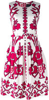 Samantha Sung sleeveless printed dress