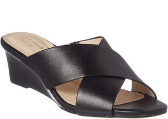 Cole Haan Adley Grand Leather Wedge Sandal
