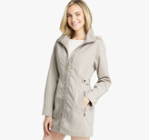 Johnston & Murphy Ruched Hooded Jacket