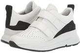 Geox Backsie 4 (White/Black) Women's Shoes