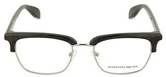 Alexander McQueen 51MM Rectangular Optical Glasses