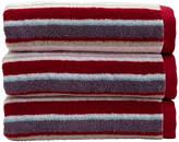Christy Portobello Stripe Towel - Pale Pink - Bath Towel