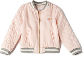 Chloé Kids Soft Teddy Bomber in Pink. - size 2Y (also in 3Y,4Y,6Y)