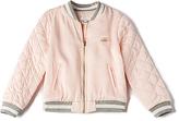 Chloé Kids Soft Teddy Bomber in Pink