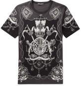 Dolce & Gabbana Slim-Fit Printed Cotton-Jersey T-Shirt