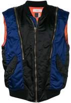 Facetasm striped vest
