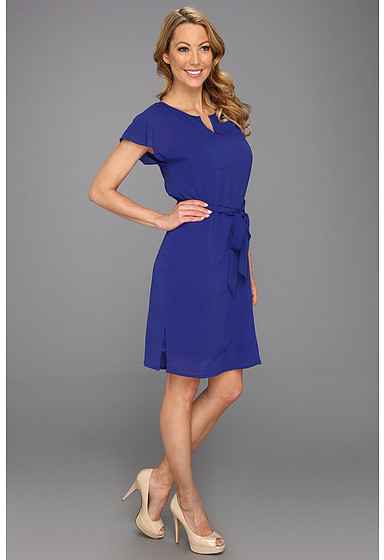 Vince Camuto Tunic W/Flared Shoulders Dress