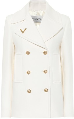 Valentino double-breasted wool coat