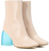 Ellery Sacred Leather Ankle Boots